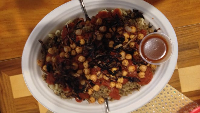 """The Koshary, aka """"The Egyptian Garbage Plate,"""" had a taste all to its own."""