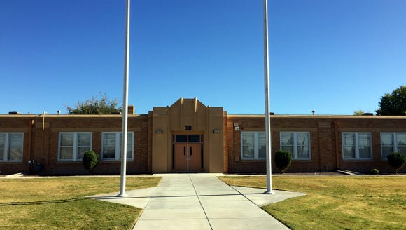 The sun shines on Johanna O'Donnell Intermediate School