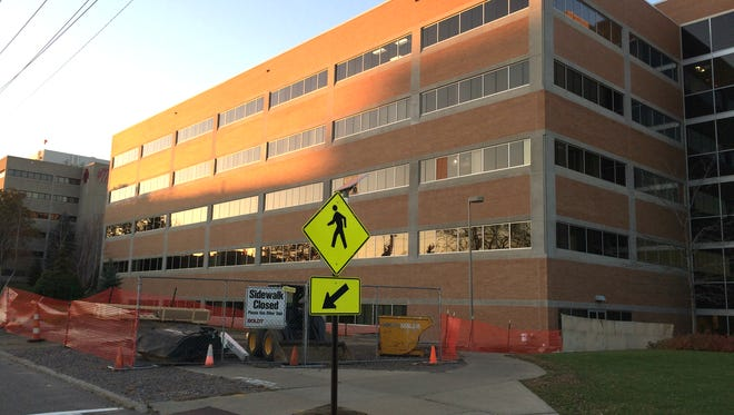 The east wing of Marshfield Clinic's medical campus in Marshfield on Nov. 7, 2015.