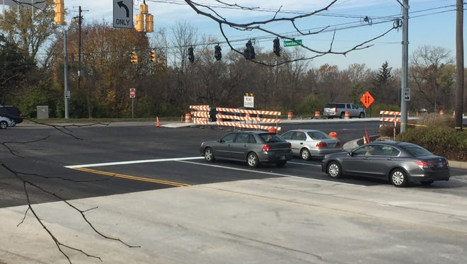 Greenbush Street east of Sagamore Parkway re-opened Monday after being closed nine days for construction.