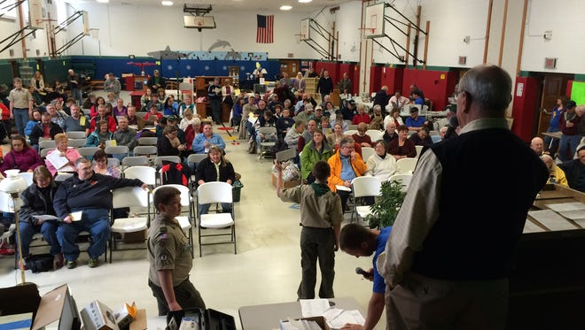 Avon Rotary's annual auction raises needed funds to help charities and attracts a crowd.