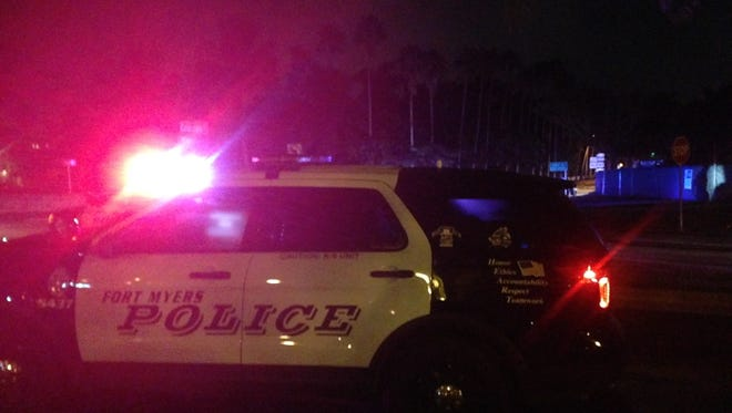 Fort Myers police detained a suspect Thursday night wanted in an aggravated assault.