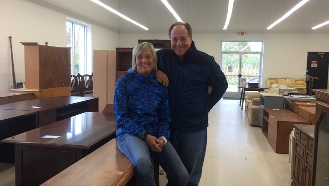 Bill and Brenda Antinore founded Seeds of Hope in Camden to help the poor, homeless, addicted and prostitutes. Hope Thrift, with locations in Stratford and Brooklawn, benefits their outreach efforts.