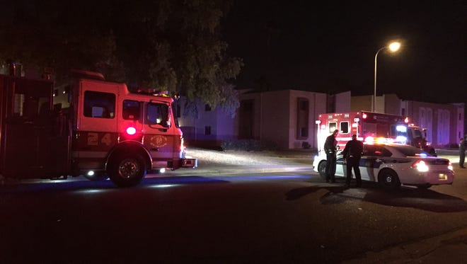 Phoenix Fire Department investigating the source of an irritant in the air