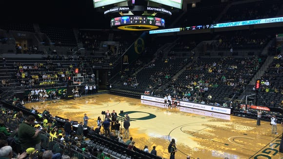 Oregon gets set to host Jackson State tonight in its men's basketball season opener.