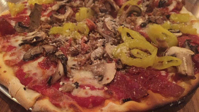 The Spartacus at Gusto Pizza Co.