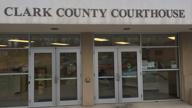 The Clark County Courthouse in Neillsville on Nov. 16, 2015.