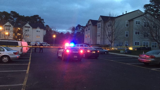 Little Egg Harbor police shot and killed a man after responding to a call at the man's home Tuesday morning, according to Ocean County Prosecutor's spokesman Al Della Fave.