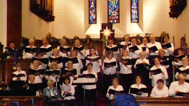 Staunton Choral Society presents its annual Christmas Concert Dec. 6.