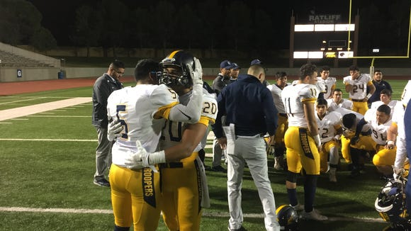 Eastwood lost in the second round of the Class 6A state football playoffs to Arlington Lamar on Friday night in Odessa.