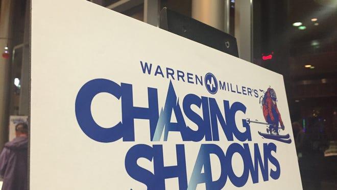 "Warren Miller's 2015 film ""Chasing Shadows"" had a screening at the Reno Ballroom Saturday night."