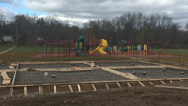 Construction on Chili's Union Station Spray Park is expected to be completed soon.