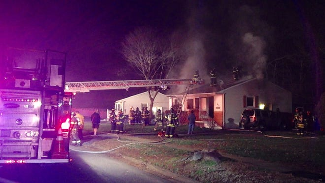 The state fire marshal is investigating a fire that damaged a home Wednesday night in Ogletown.