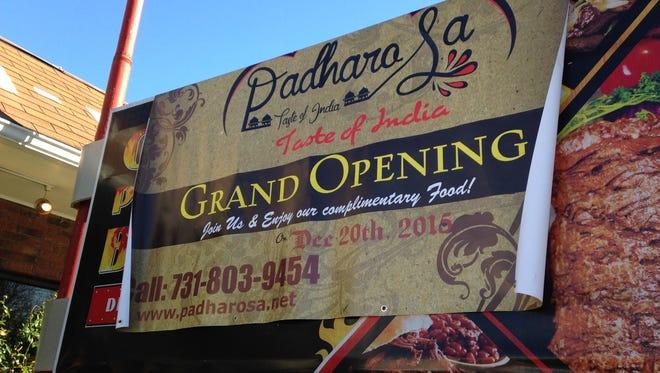 Dadharo Sa - A Taste of India - opens Dec. 20 at 1431 Hollywood Drive.