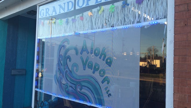 Aloha Vapor, a tropical-themed shop offering e-cigarettes and more, is now open at 705 N. Main St.