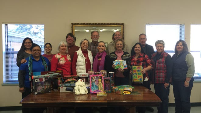 The Lincoln County Community Health Council is giving area children in need a reason to smile with its donation to Santa's Helpers.