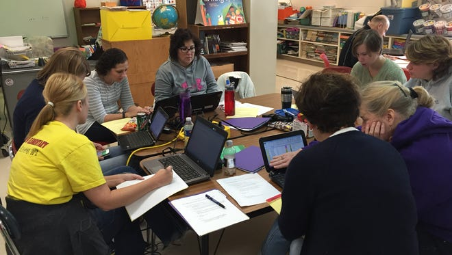 The foundation of PLC's or professional learning is based on collaboration with an emphasis on trying to better one's teaching and learning environment.