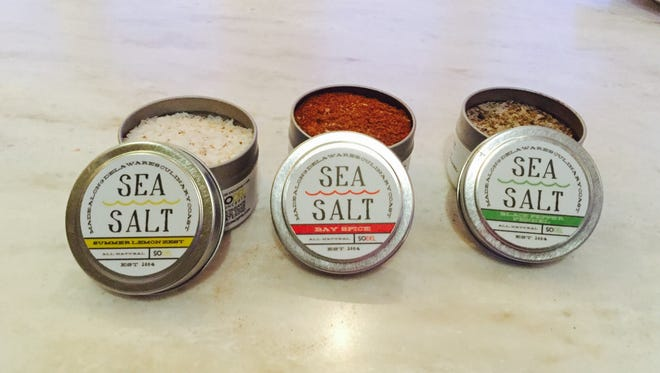 SoDel Concepts, which operates eight Delaware restaurants, recently launched a second line of flavored sea salts.