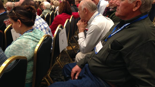 Nearly 300 delegates attended the 100th Maryland Farm Bureau convention in Ocean City on Monday and Tuesday.