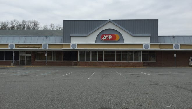 A shuttered A&P supermarket on Route 520 in Marlboro. This location closed in November, before Thanksgiving. The company received a bid from landlord to reclaim the property.