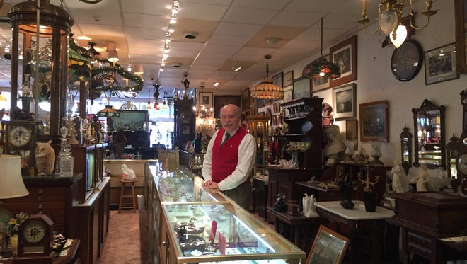 The Owl's Tale owner Bill Dillon is retiring and the Haddonfield antique store and its contents are for sale.