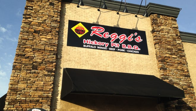 Reggi's BBQ, 292 Parkstone Place, named Barbeque Capital of Tennessee.