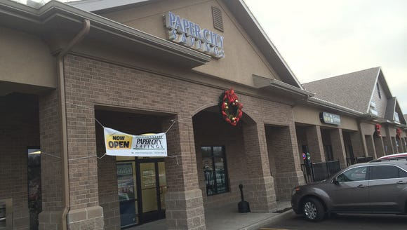 Paper City Savings has opened a location at the Windsor