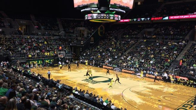 Oregon hosts Long Beach State on Friday night.