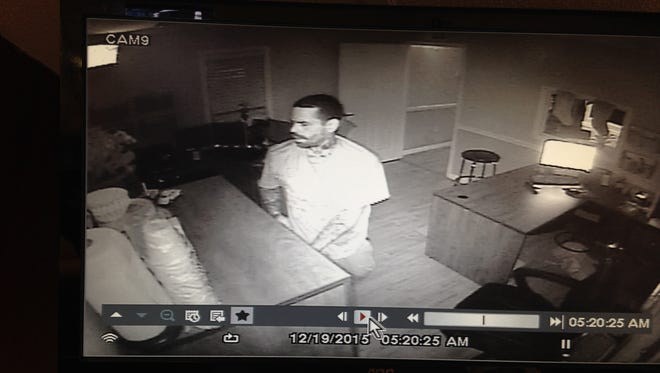 Police are looking for this burglary suspect.