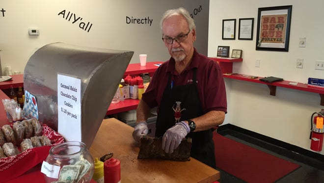 JB's Barbeque in Simpsonville has been forced to close after owner Jerry Bumgarner suffered a traumatic brain injury during a fall while cycling on Nov. 16.