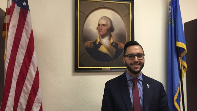 A photo of Washoe County Republican Chair Adam Khan.