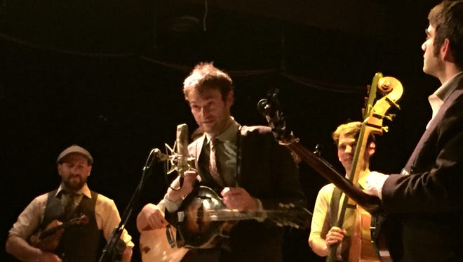 The Punch Brothers, with Chris Thile on mandolin, played the Bearsville Theater in Woodstock Dec. 14.