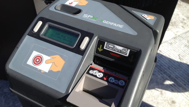 Electronic fareboxes are now standard on Transport of Rockland and Tappan ZEExpress buses.