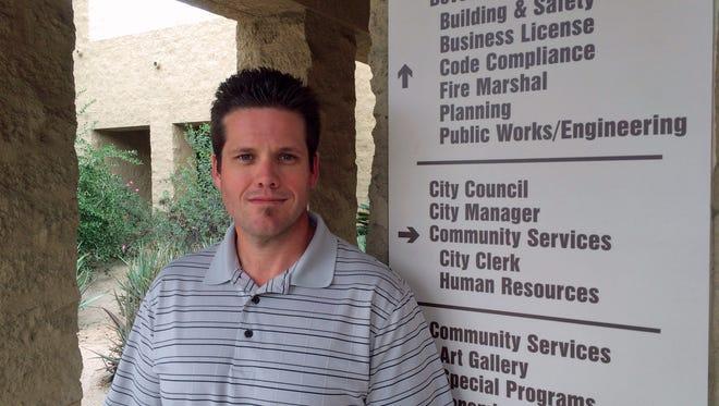Ryan Stendell is the city of Palm Desert's new director of Community Development.