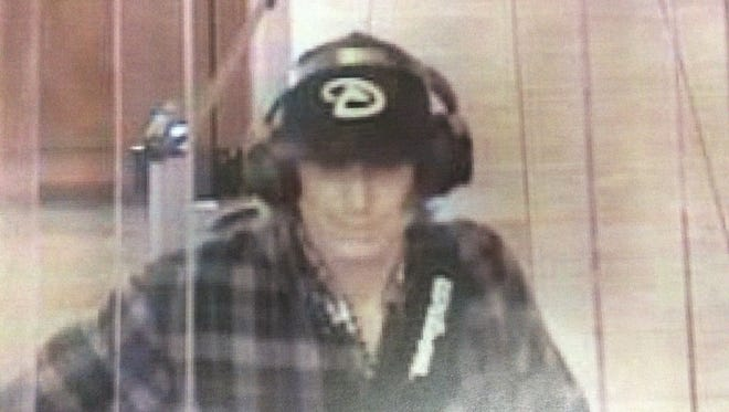 Glendale Police are looking for this man, who attempted to rob a Wells Fargo Bank near Glendale and 91st Ave on Dec. 24, 2015.