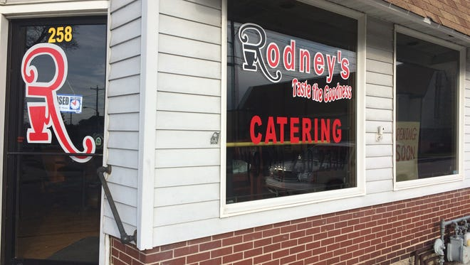 Rodney's Cafe, 258 W. 8th St. re-opened Saturday.