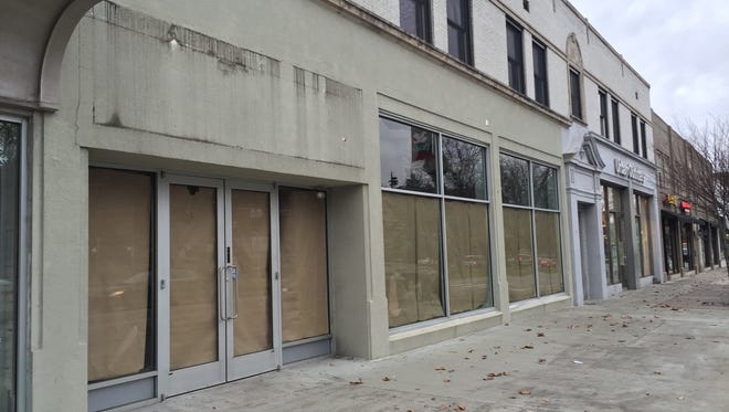 American Apparel closed its East Lansing location on Dec. 18. The clothing chain filed for bankruptcy in October.