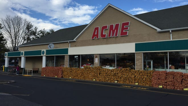 Acme recently bought the A&P supermarket in Little Silver.