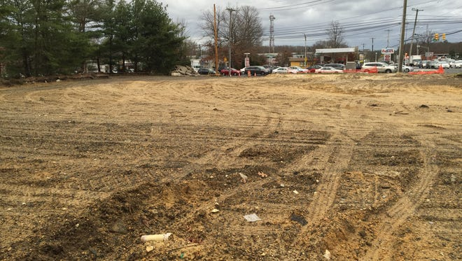 Cleared land at the intersection of Route 9 and Indian Hill Road in Toms River. A CVS Pharmacy has been approved for the site.
