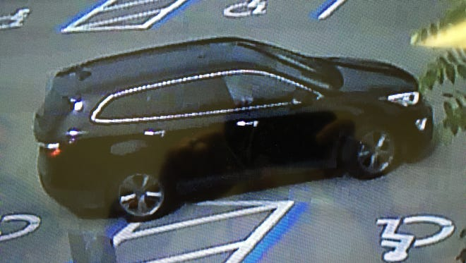 Image surveillance captured this SUV in a shooting near Nelson Tillis Boulevard.
