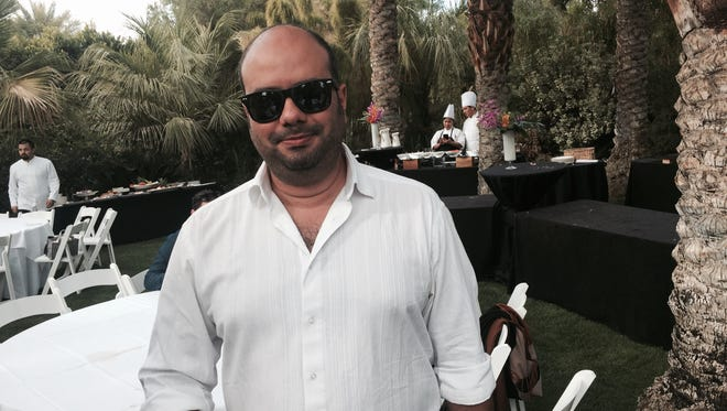 """Colombian director Ciro Guerra received a Variety Award Sunday at the Parker Resort as one of its 10 Directors to watch for his film, """"Embrace of the Serpent,"""" screening again on Wednesday."""