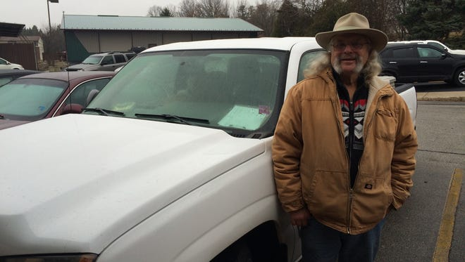 Mike Gengler volunteers with Door-Tran, driving people from all over the county to appointments and shopping trips with the County Wide Volunteer Program.