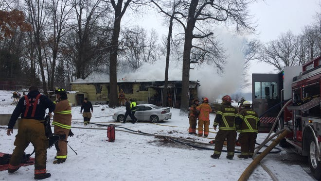 A 9-year-old Battle Creek resident was killed Sunday in a fire at her family's trailer in the 600 block of Westbrook Avenue in Battle Creek. The cause of the fire is under investigation.