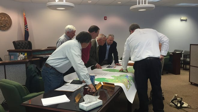 The Lamar County Planning Commission met Tuesday and accepted a letter from Groundworx stating the contractor had withdrawn its application for permits on the Lamar County spray fields.