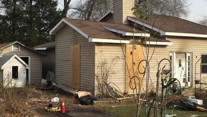 three pet birds and a cat died in a fire at this home at 64 Midvale Avenue in Lake Hiawatha, Parsippany, Jan. 15, 2016.