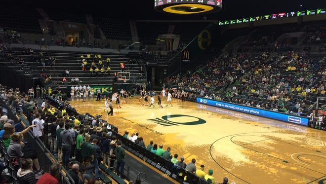 Oregon's women's basketball team hosts Stanford.