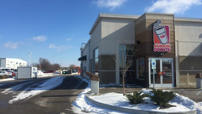Dunkin' Donuts opens its first store in the area in about 20 years. It is at 2131 S. Sagamore Parkway in Lafayette and will be open from 5 a.m. to 10 p.m.