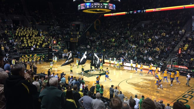 Oregon hosts UCLA on Saturday.
