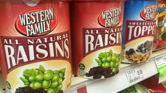 Although raisins seem like a great healthy snack, they