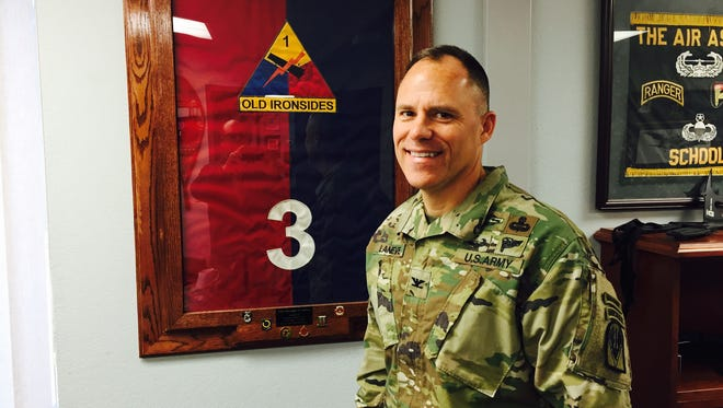 Col. Christopher C. LaNeve is a former Fort Bliss brigade commander. He is now the  commander of Operations Group at Fort Polk.